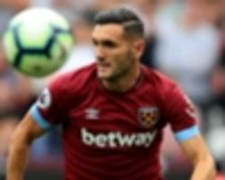 west ham's lucas perez refutes claims he refused to warm up against everton