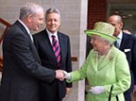 awkward truth behind queen's handshake with ira leader martin mcguinness revealed