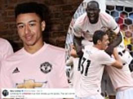 football fans poke fun at manchester united's new pink strip