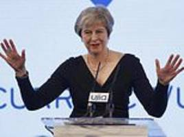 Prime Minister Theresa May says there are no excuses for anti-Semitism United Jewish Israel Appeal