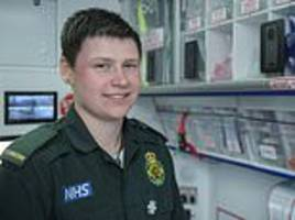 Britain's 'first transgender paramedic' says his experience allows himself to better understand job