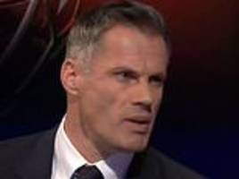 'marcus rashford does not want to become danny welbeck': jamie carragher stands by  comments