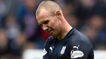 kenny miller sees red on ibrox return