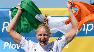 'Congratulations Dominant' - Irish sports minister gets champion rower's name wrong