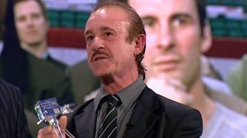enzo calzaghe wins coach of the year at 2007 sports personality of the year awards