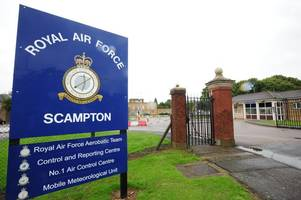 plan launched to save a shop, parks, a gym, tennis courts, hangars and a play school at raf scampton