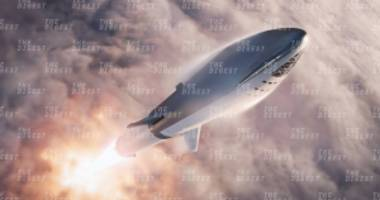 Elon Musk Tweeted Some Very Cool New Renders of the Big Falcon Rocket