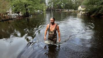 Wilmington: A community cut off after 'terrifying' storm