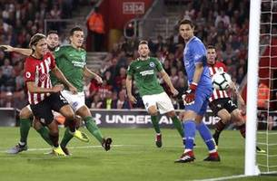 brighton comes from 2 down to draw southampton 2-2 in epl