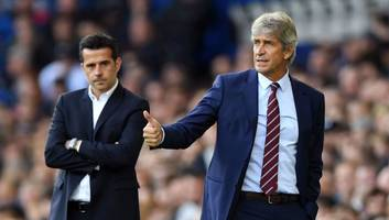 manuel pellegrini claims win over everton was perfect birthday gift from west ham players