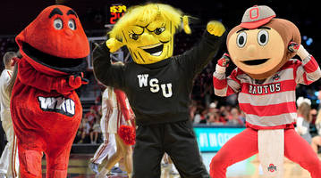 the top 10 college basketball mascot battles we'd like to see