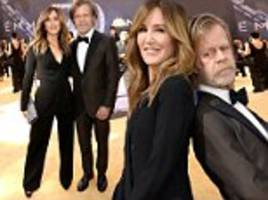 emmys 2018: felicity huffman and william h macy wear matching suits