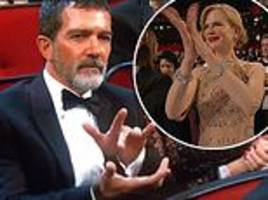 emmys: antonio banderas fans go wild for actor's 'weird' clapping