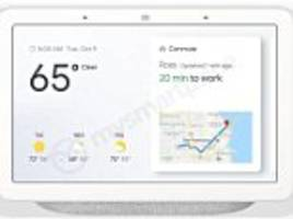 leaked photos claim to show 'google home hub' with a screen in bid to take on amazon's echo show
