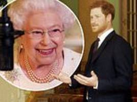 prince harry reveals that he 'panics' when he bumps into the queen