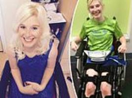 woman, 20, has life-changing spinal surgery for cerebral palsy