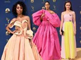 Worst dressed stars at the 2018 Emmy Awards