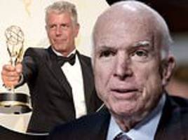 emmys: john mccain and anthony bourdain remembered during in memoriam