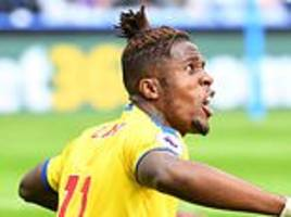 crystal palace 'contact premier league over rough treatment of zaha'