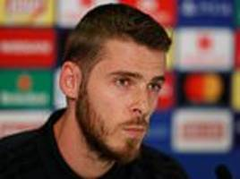 david de gea insists he was not affected by criticism of his world cup