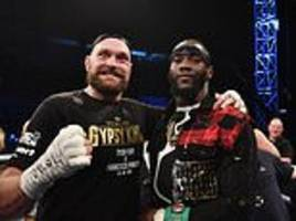 deontay wilder and tyson fury set to hold press conference ahead of heavyweight fight