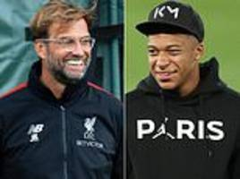 Jurgen Klopp came close to bringing Kylian Mbappe to Anfield but Liverpool failed to match PSG's bid
