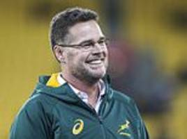 rassie erasmus will take charge of barbarians for argentina match