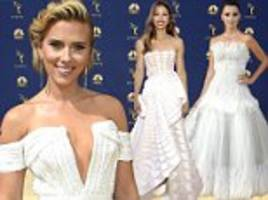 emmy awards 2018: best dressed stars hit the red carpet of the 70th annual show