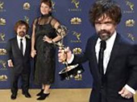 Peter Dinklage thanks wife as he wins Emmy for Game of Thrones