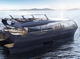 solar-powered yacht which can cruise the entire globe without stopping to refuel unveiled