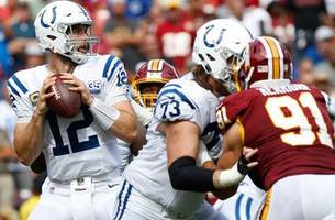 colts offensive line's backup plan is serving luck well