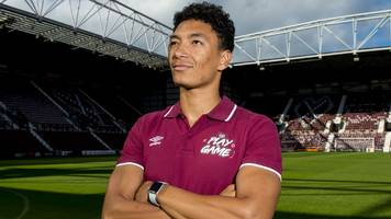 hearts signing sean clare eyes title bid, saying 'anyone can win it'