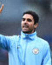 man city vs lyon: stand-in boss mikel arteta fires warning to champions league contenders