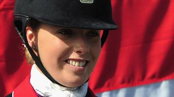 British rider Wells wins World Para-dressage gold