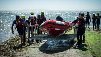 'pop up lifeboat' made in wales is saving lives in japan