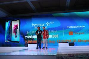 bringing the beauty all around theme, honor 9i aims to be the style icon in indonesian smartphone industry