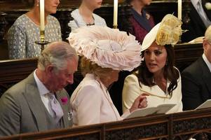 camilla 'tried to break up' prince william and 'nice but dim' kate middleton