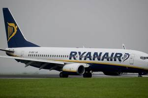 Husband says Chinese wife was stopped from boarding Ryanair flight at East Midlands Airport