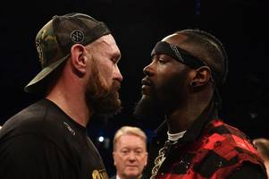this is when deontay wilder and tyson fury press conference will take place