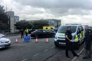 bomb squad called after man walks into newquay police station with hand grenade