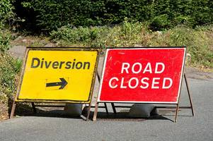 road closures confirmed as major repairs get underway for six weeks - including peaks parkway