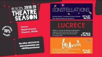 3 new productions announced as part of the ncpa theatre season
