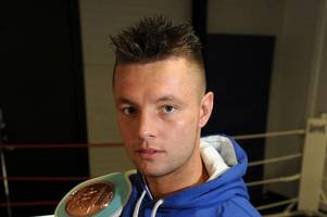 scottish boxing star john mccallum to be trained by former rival leon mckenzie as pair bury hatchet