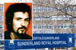 yorkshire ripper peter sutcliffe taken to hospital from frankland prison