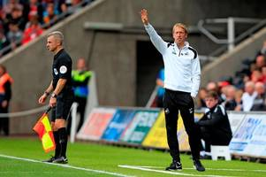 swansea city's graham potter makes major changes and names surprising team to face stoke city