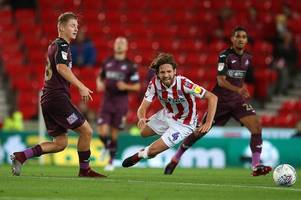 the swansea city player ratings as george byers impresses but joe allen earns stoke city victory