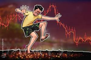 crypto markets drop sharply, ethereum loses week's earlier gains