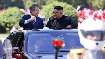 How North Korea welcomed the South's leader