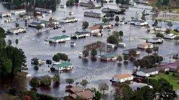Storm Florence: Residents warned 'not to return home'