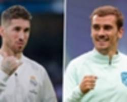 '90% of the world believes that griezmann's as good as messi and ronaldo' - lucas hernandez